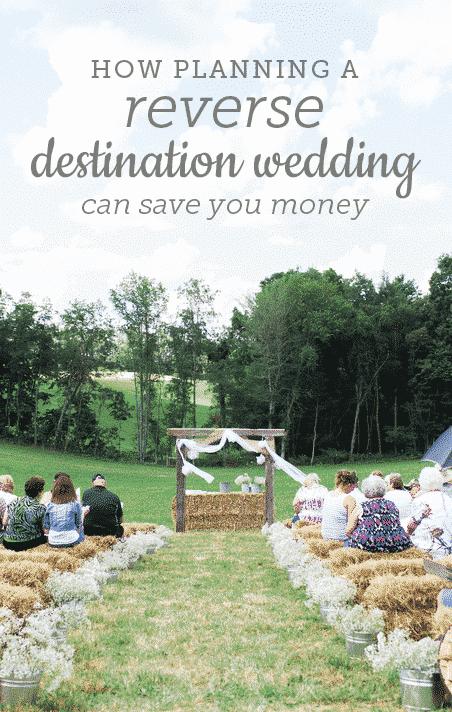 How to Plan a Reverse Destination Wedding
