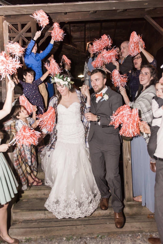 wedding photos, wedding sendoff