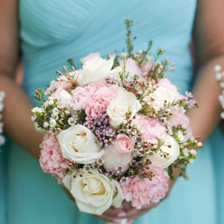 bridesmaid style, bouquet