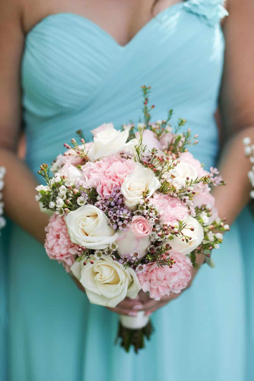 bridesmaid style, bouquet