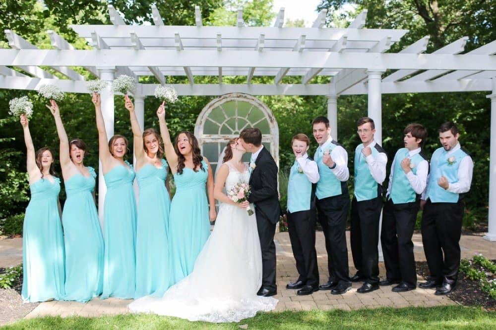 Tiffany Blue bridal party