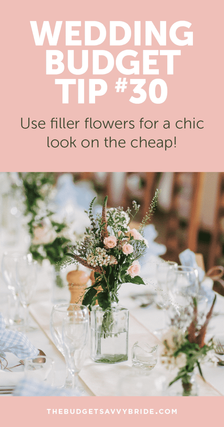 Wedding Budget Tip 30 Baby S Breath Wedding Flowers