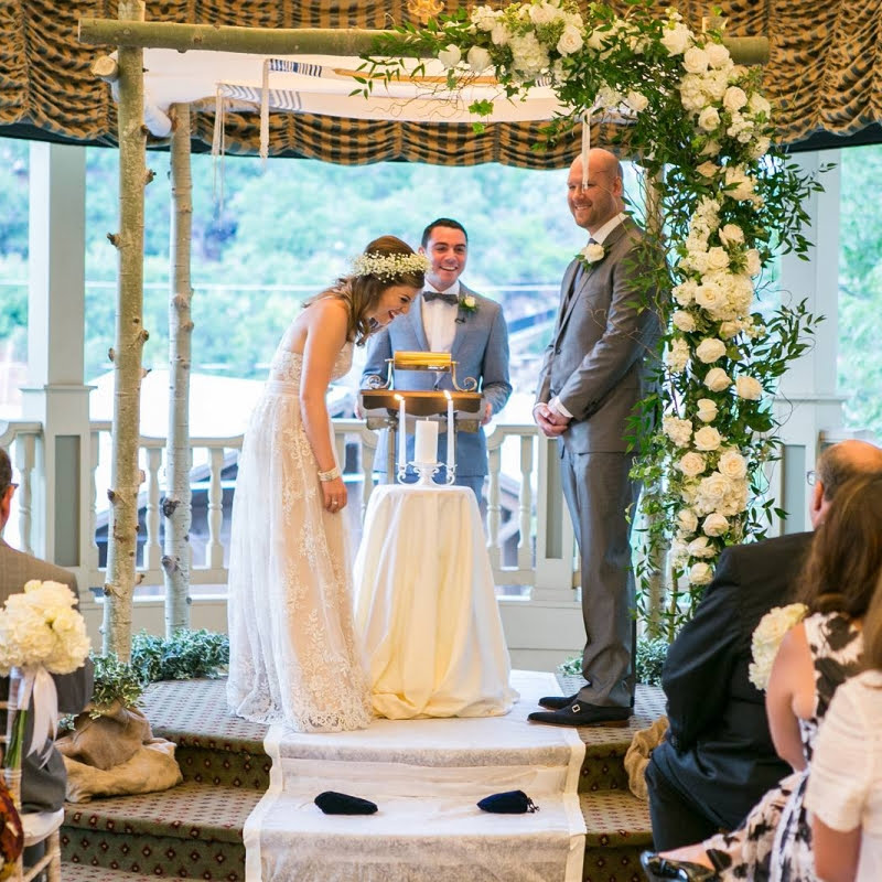 have a friend officiate your wedding