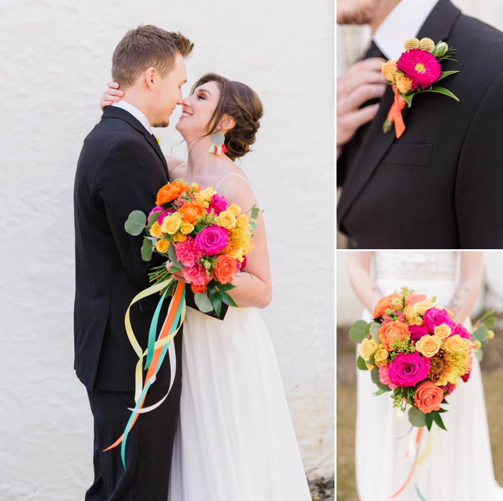Bright and Bold Styled Shoot