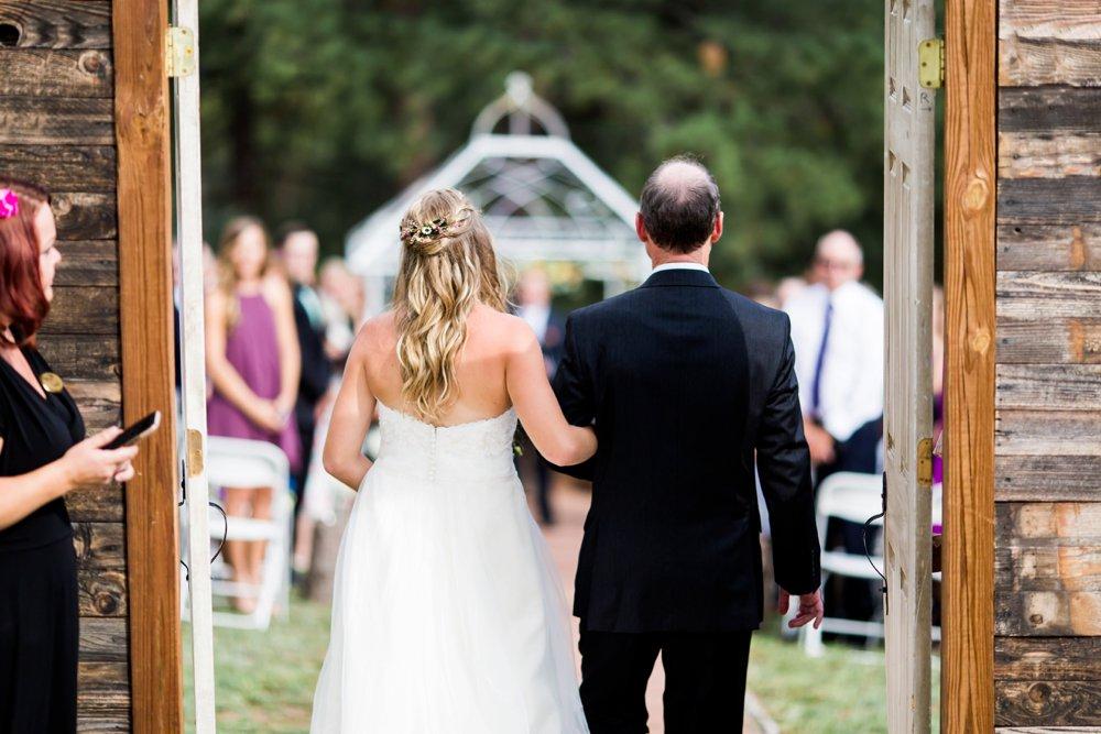Summer Wildflower Mountaintop Wedding