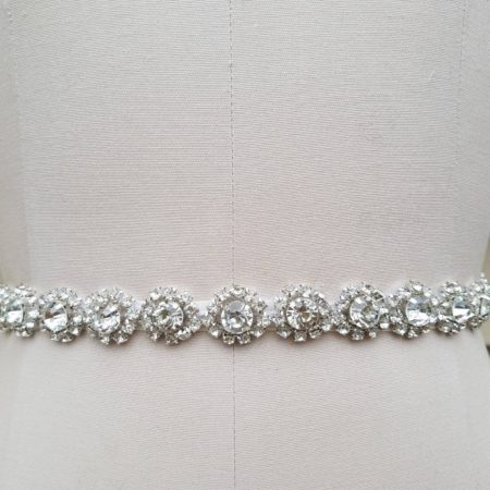 Crystal + Rhinestone Bridal Belt