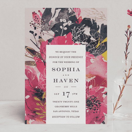 Blooming Beauty Wedding Invitations