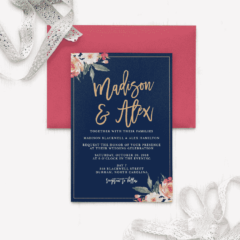 Standing-Ovation-Foil-Wedding-Invitations