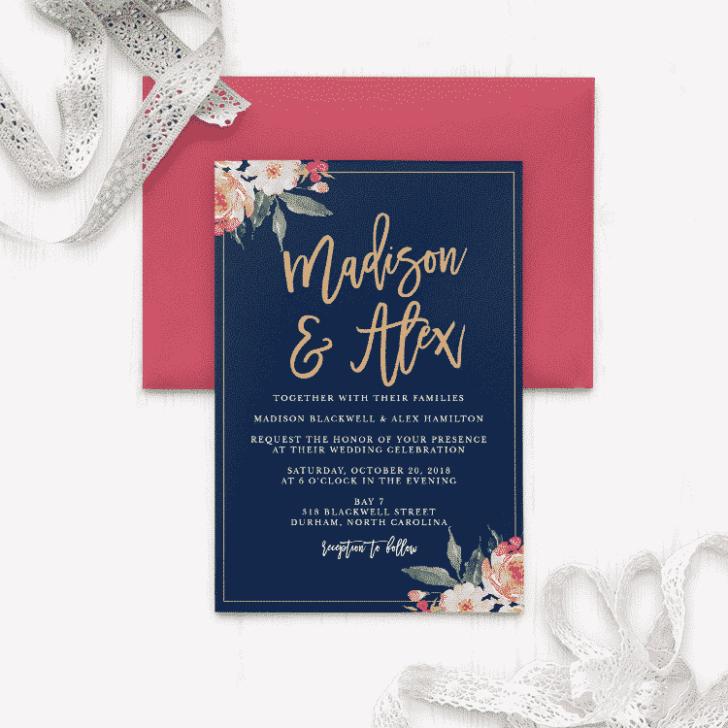 Standing-Ovation-Foil-Wedding-Invitations