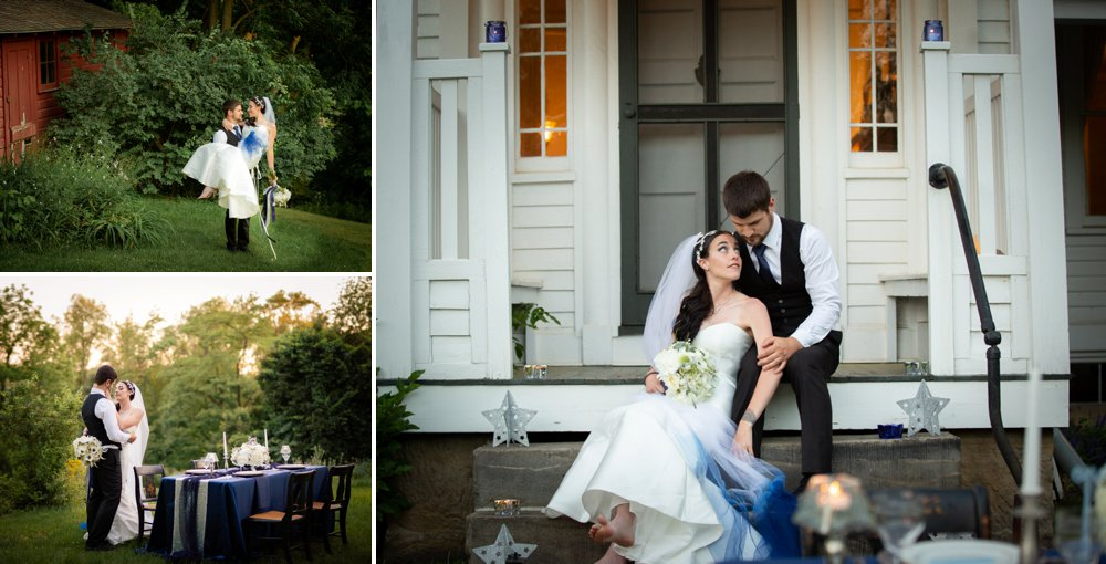 Starry Night Inspired Styled Shoot