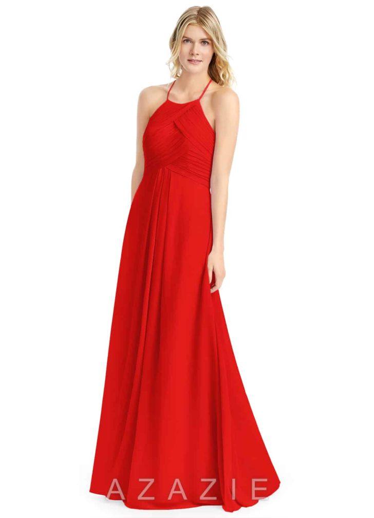 Azazie Ginger Dress