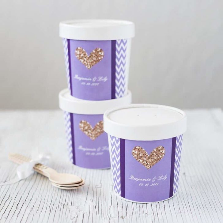 Personalized Ice Cream Pints