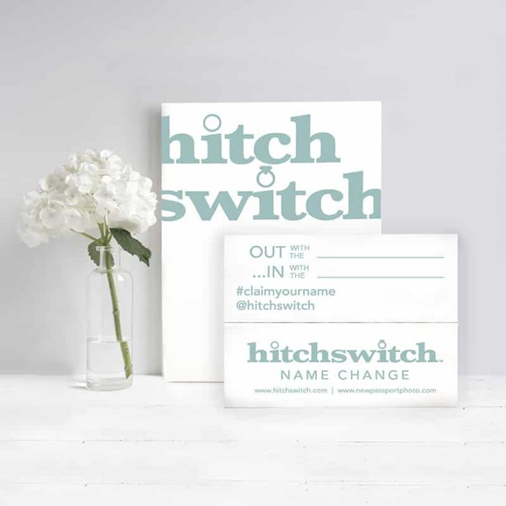 HitchSwitch - Married Name Change Service