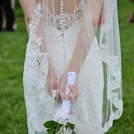 Lace Fingertip Wedding Veil