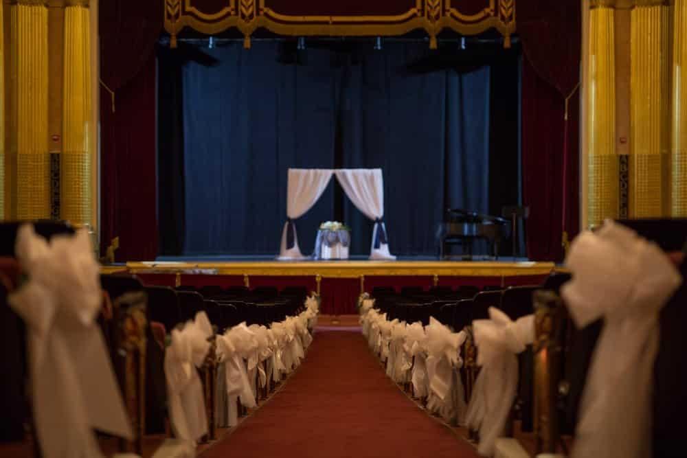 Circus World Royalty Wedding