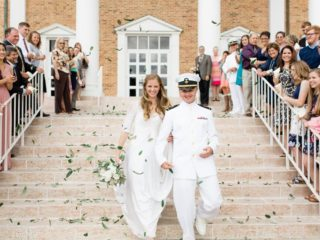 Simple and Elegant Military Wedding