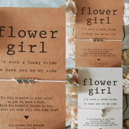 Flower Girl Wish Bracelet