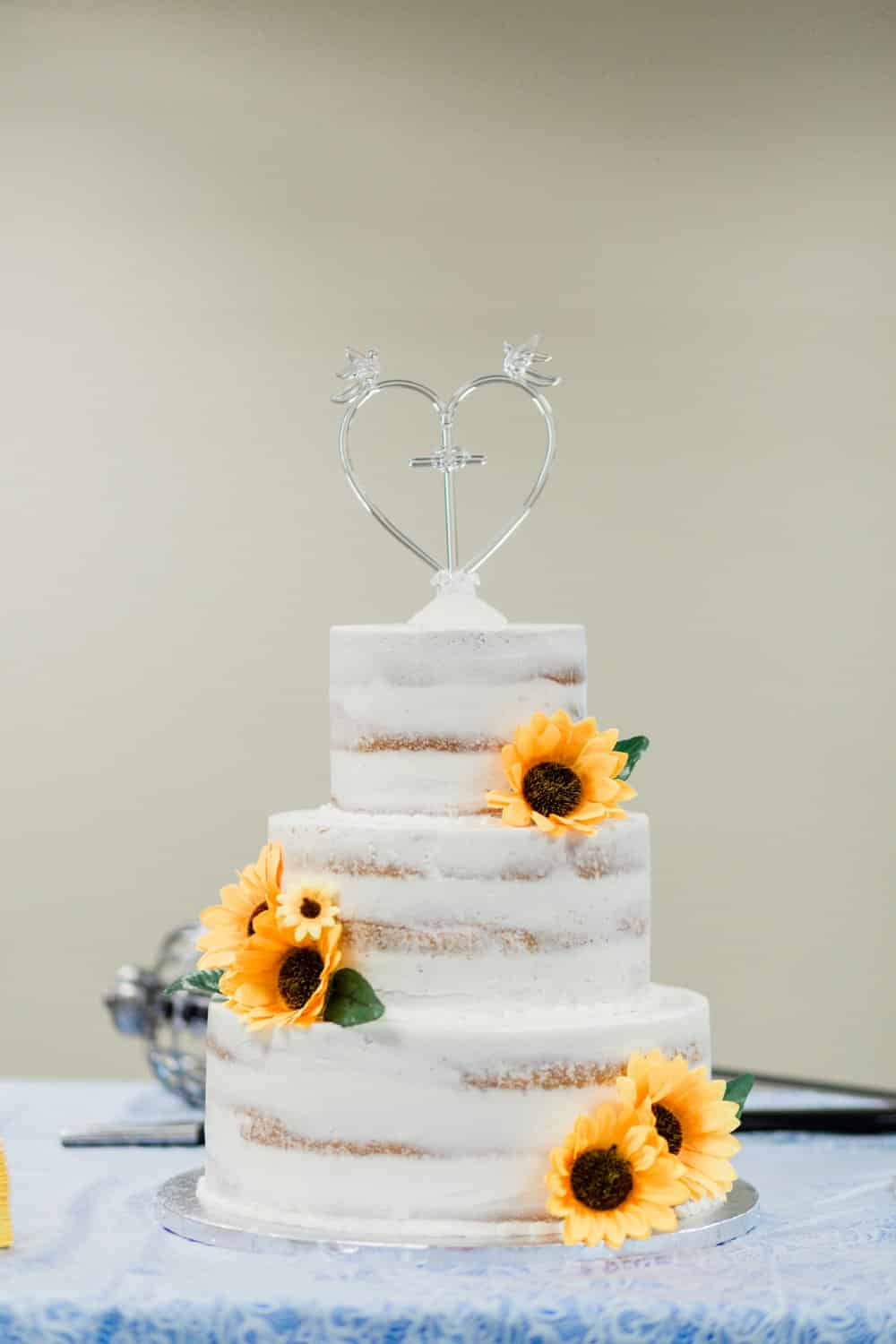 Sweet and Simple Sunflower Wedding