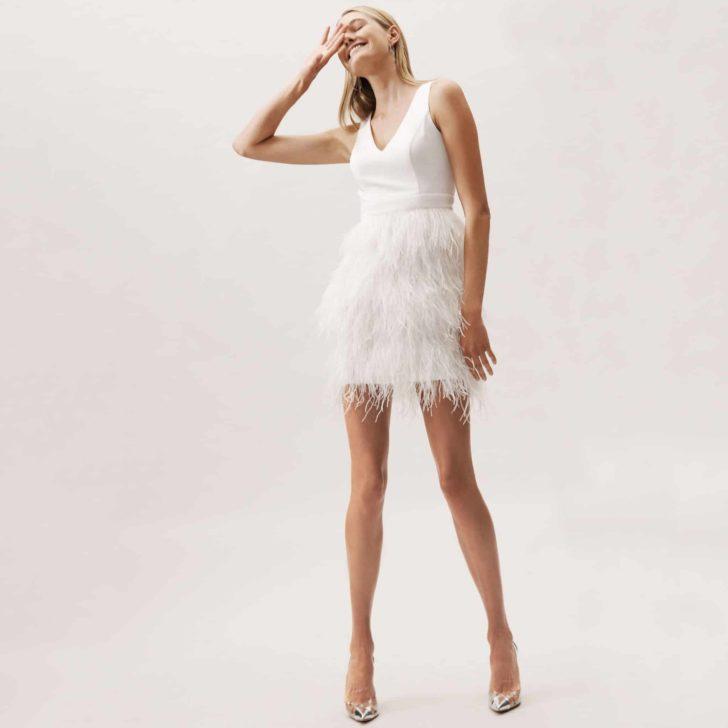 BHLDN Anthem Dress - Bridal Reception Dress