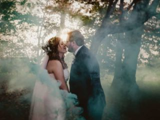 Enchanting Outdoor November Wedding