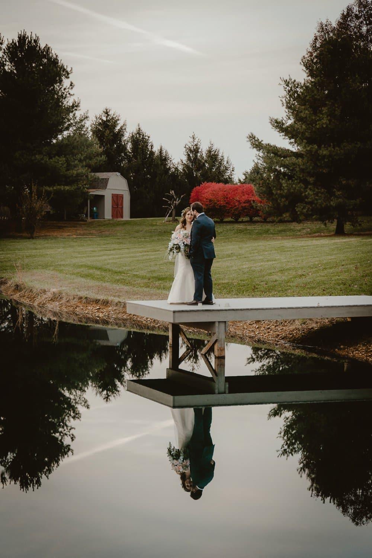 Enchanting Outdoor November Wedding