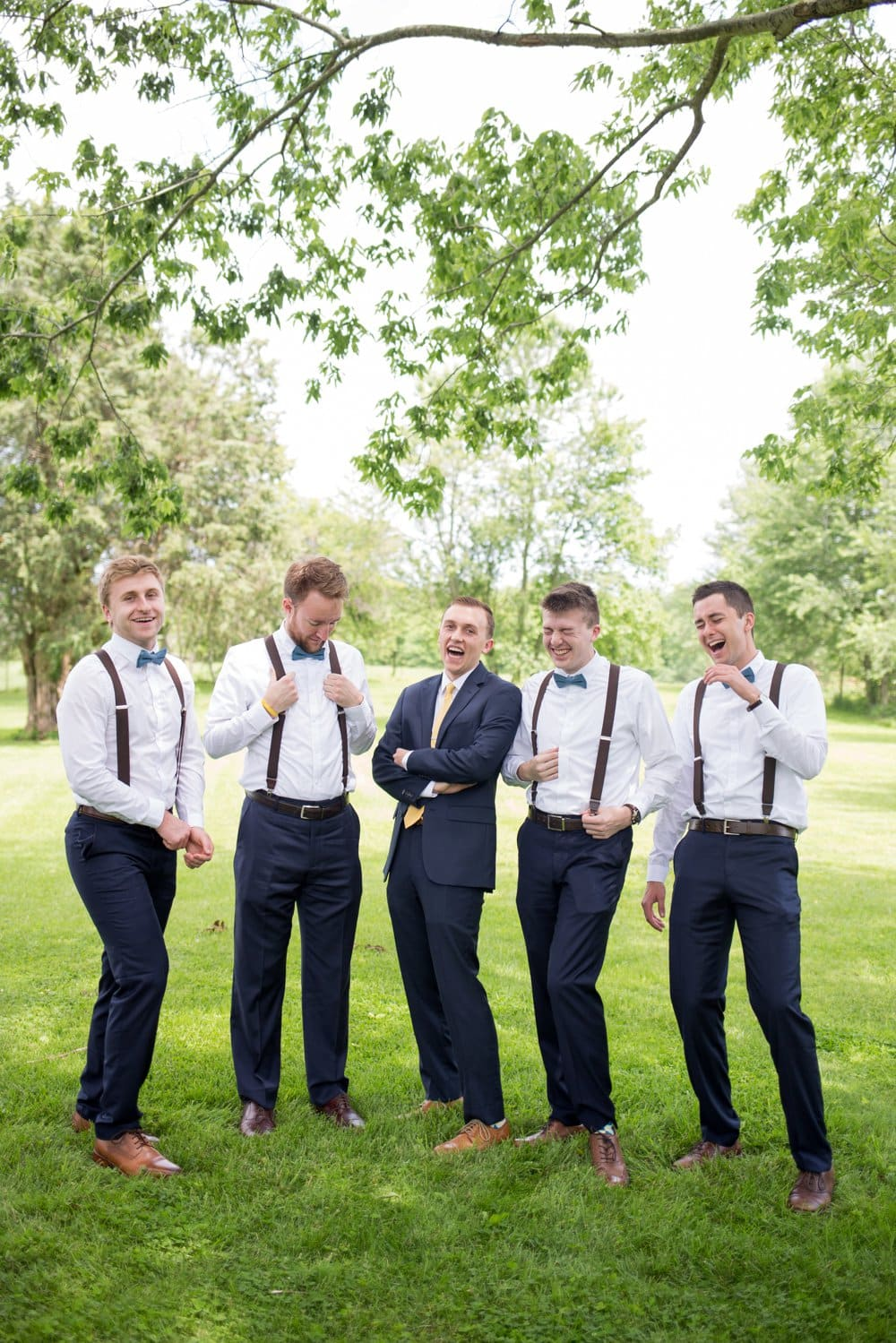 Classic and Rustic Bloomington Wedding