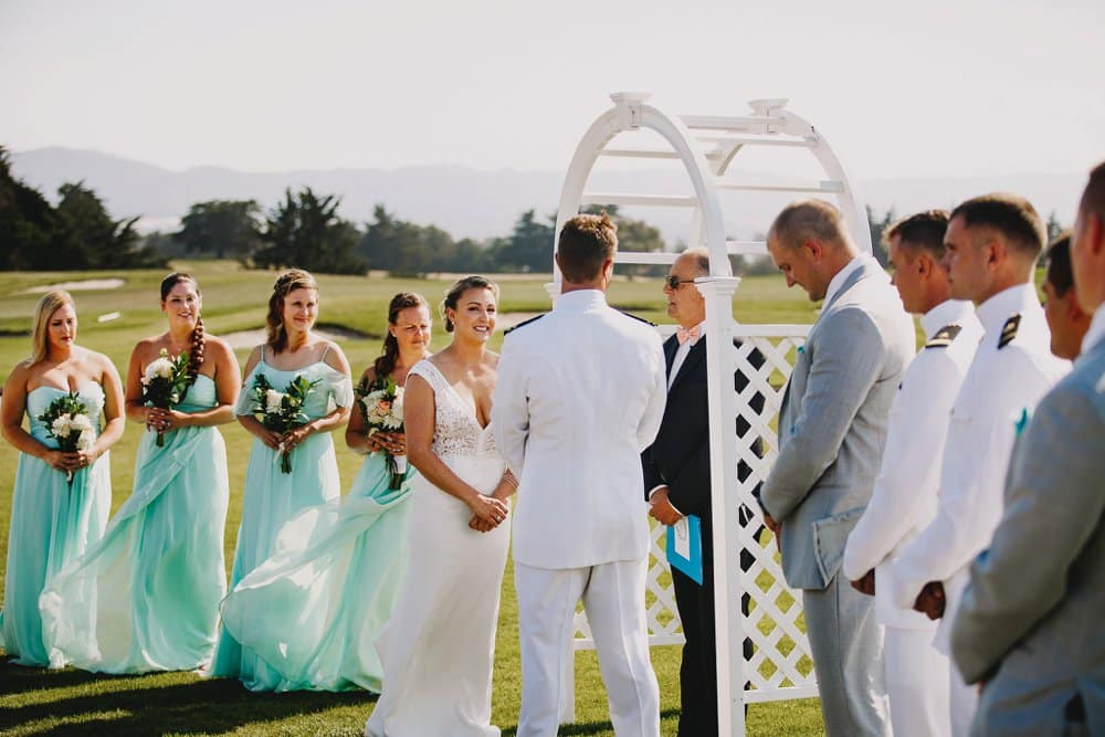 Romantic Navvy Wedding in CA