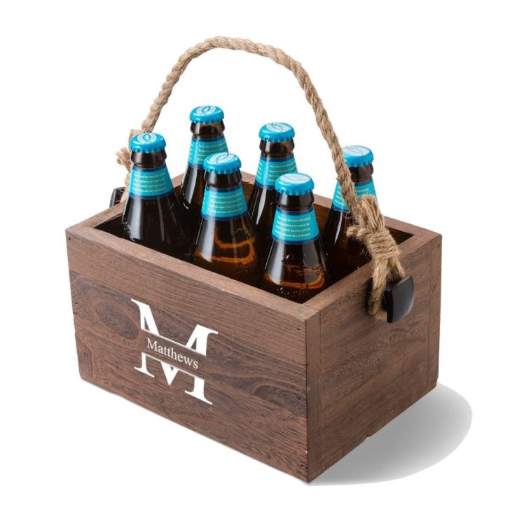 beer caddy - personalized gifts for couples