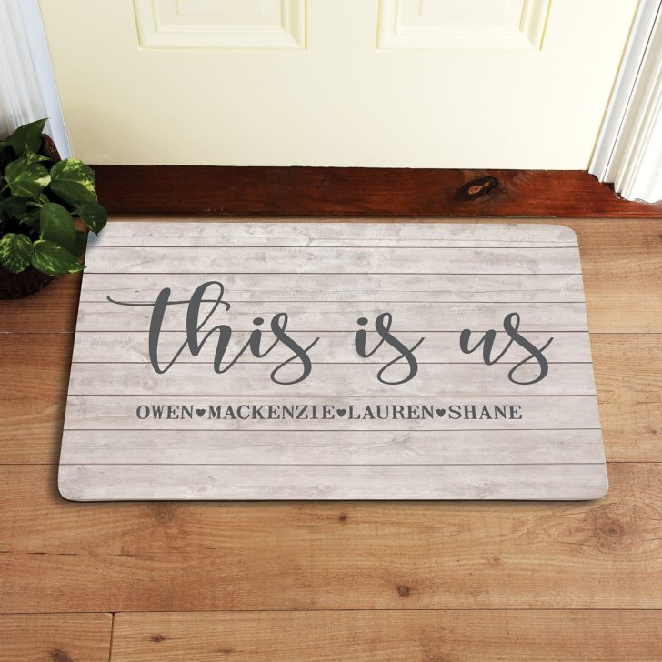 custom doormat - personalized gifts for couples