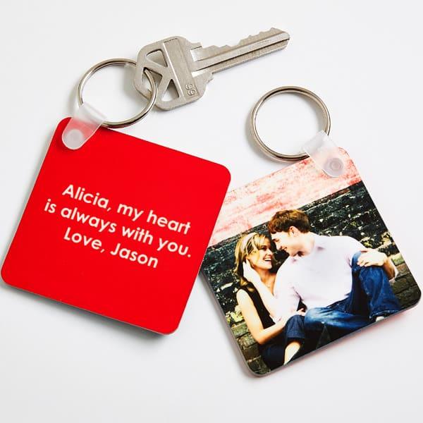 personalization mall keychain
