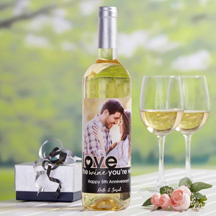 personalization mall custom photo wine labels
