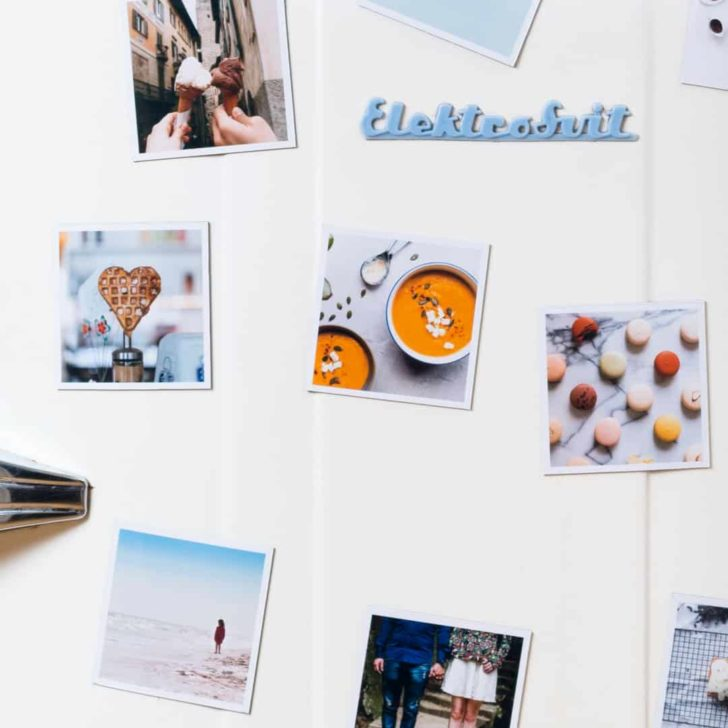 squared photo magnets - turn your wedding photos into gifts