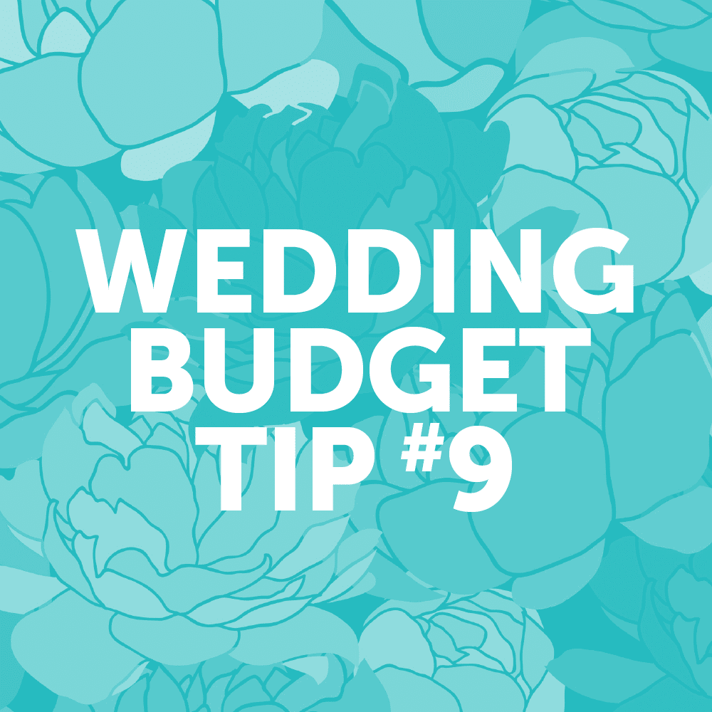 Wedding Budget Tip #9: Consider a local restaurant instead of a caterer for your meal.