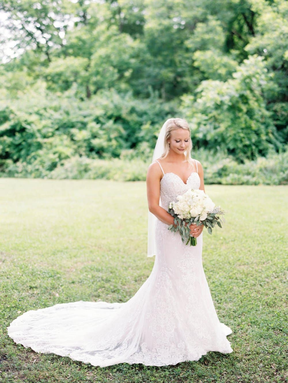 Dusty Blue GA Wedding