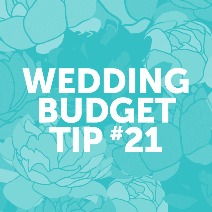 Wedding Budget Tip #21: Try the Wedding Cake Switcheroo