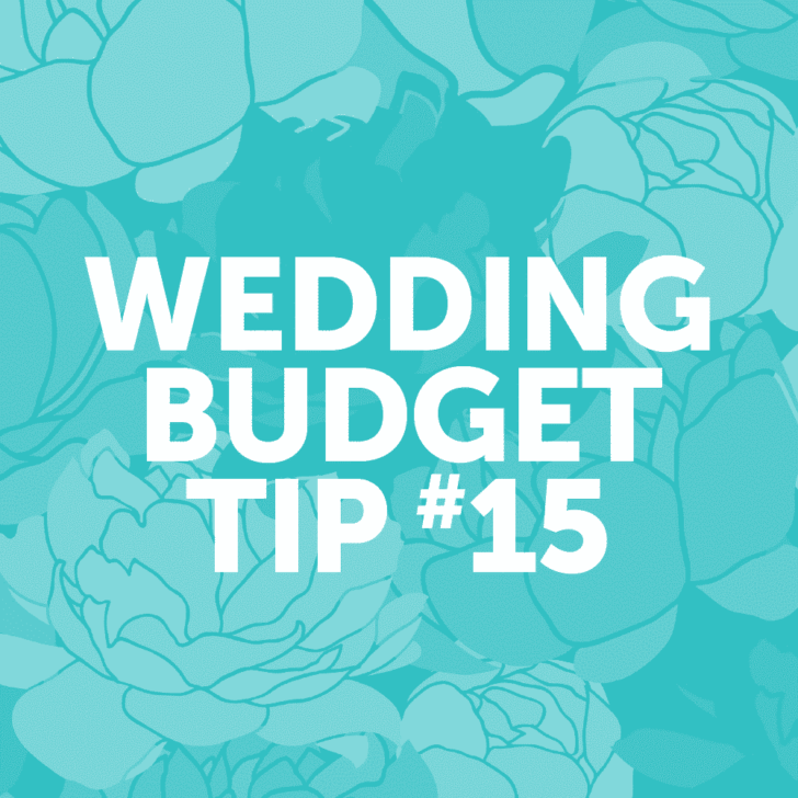 Wedding Budget Tip #15: Upcycle items you have around your home to use them as wedding decor!