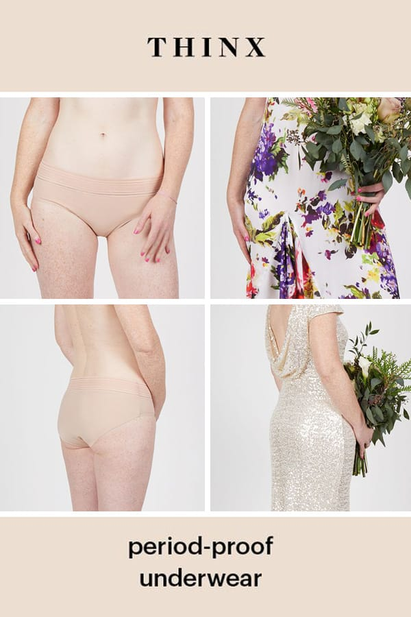 Thinx Period-Proof Underwear : The Key to Surviving Your Period on Your Wedding Day