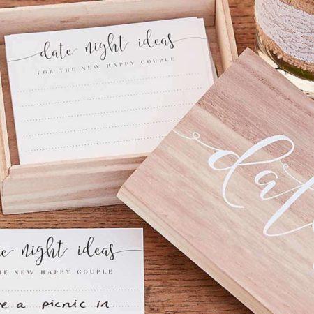 Wooden Date Box