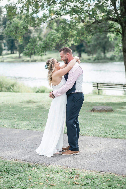 DIY Backyard Wedding in Syracuse