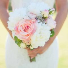 Something Borrowed Blooms - Cameron Bridal Bouquet - Silk Flower Wedding Bouquet for Rent