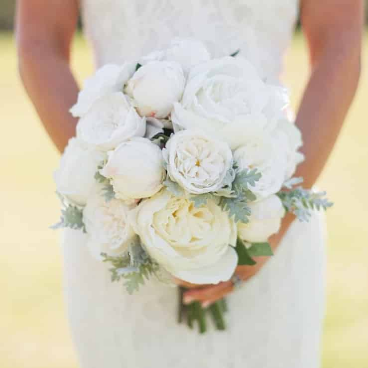 Something Borrowed Blooms - Sophia Bridal Bouquet - Silk Flower Wedding Bouquet for Rent