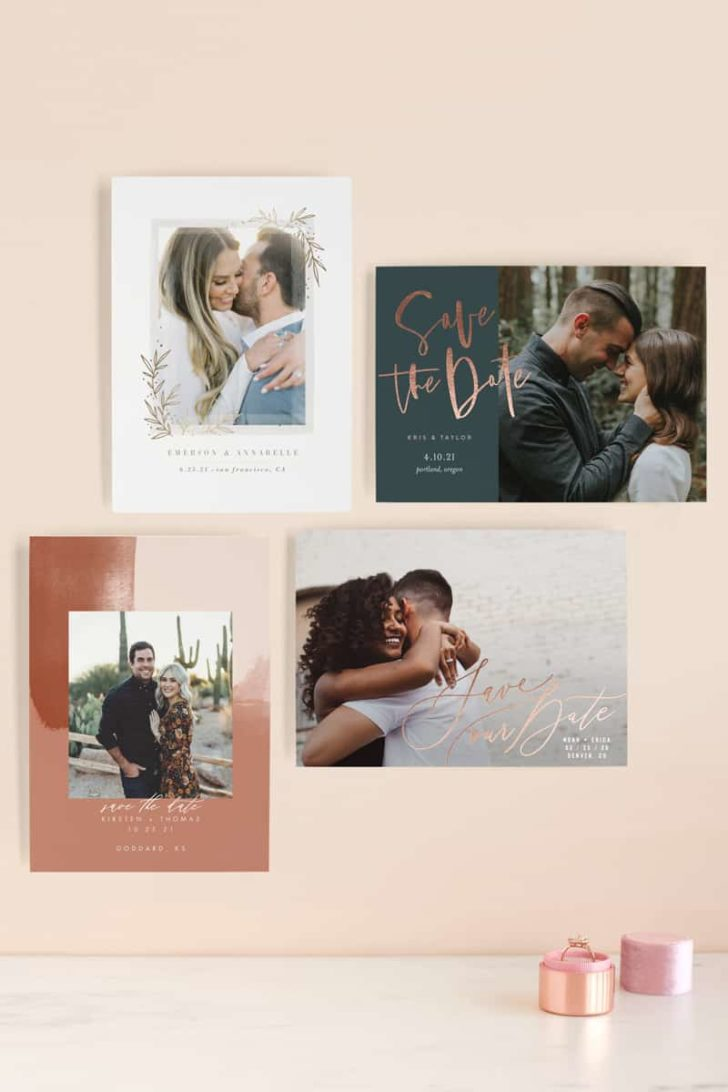New 2019 Save the Date Designs from Minted! #wedding #weddinginspiration #weddingideas #ido #weddingplanning #weddings #savethedate #engaged