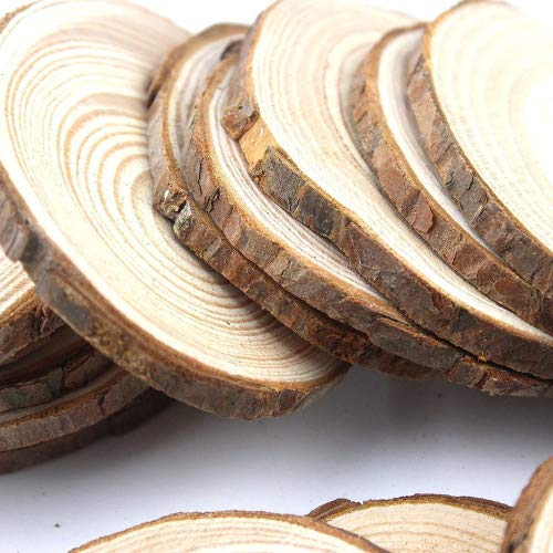 amazon wedding decor -wood slice coasters