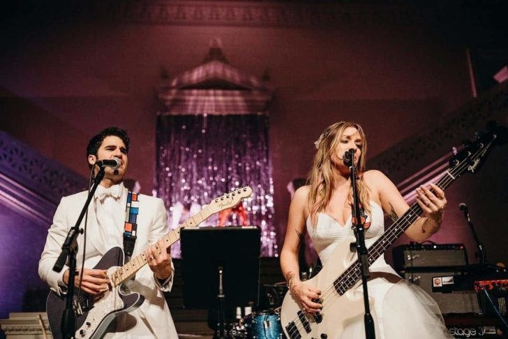 Darren Criss and Mia Swier Wedding