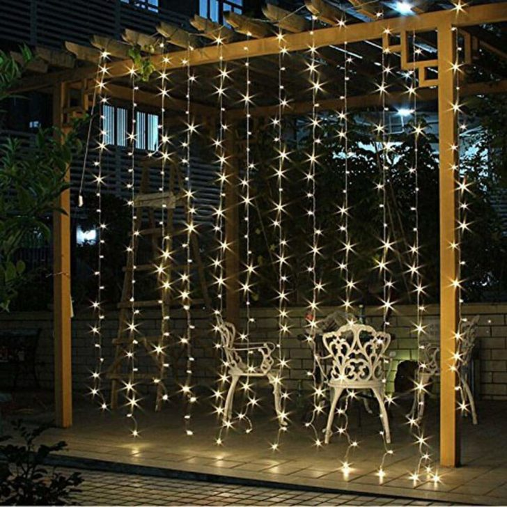amazon wedding decor - twinkle light curtains