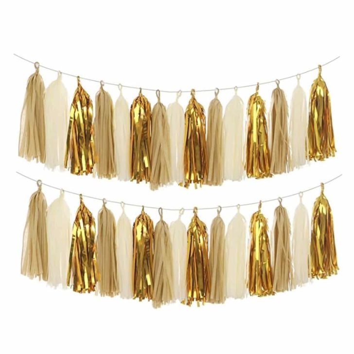 amazon wedding decor - tassel gardlands