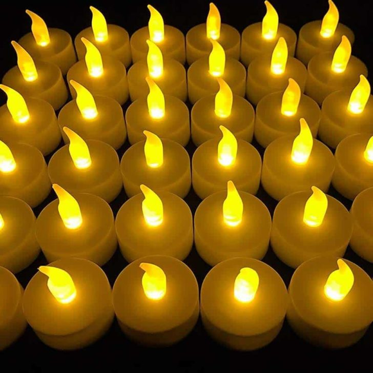 amazon wedding decor - LED tealight candles