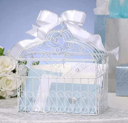 amazon wedding decor - birdcage card box