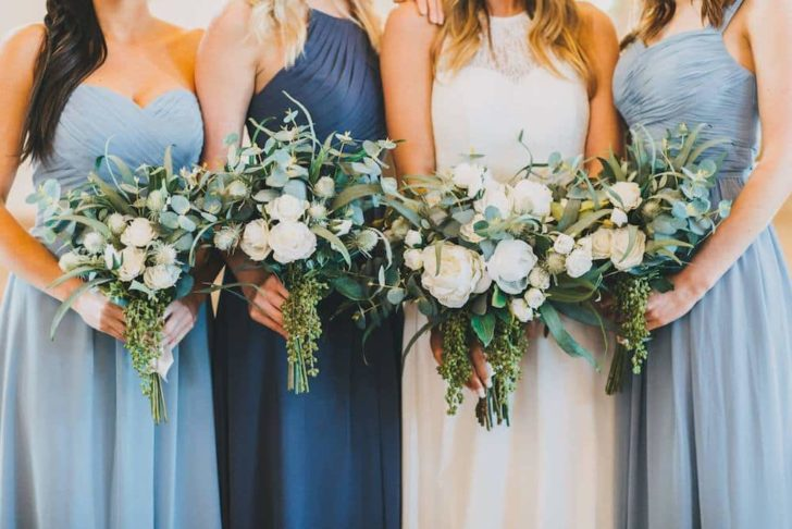 The Jane Collection Bouquets - Silk Wedding Flowers - Fresh vs Faux