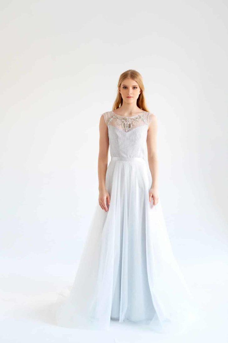 mywony-gardenia-tulle wedding dress